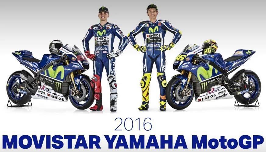 Yamaha MotoGP 2016 Unveil
