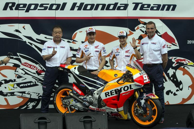 Honda HRC 2016 MotoGP Unveil