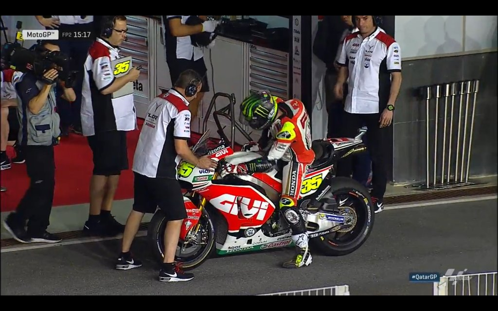 Qatar GP: Warmup