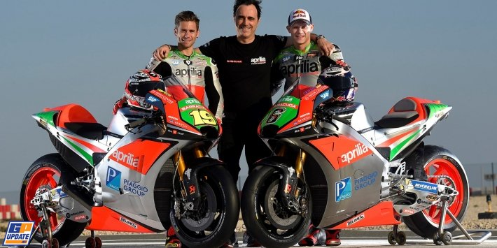 2016: New Aprilia RS-GP
