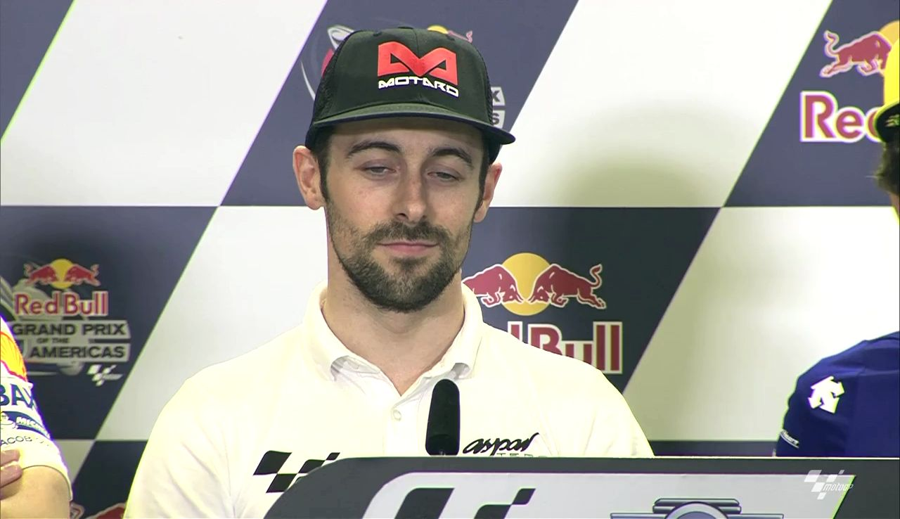 20160408_Austin GP Press Conference - Eugene Laverty
