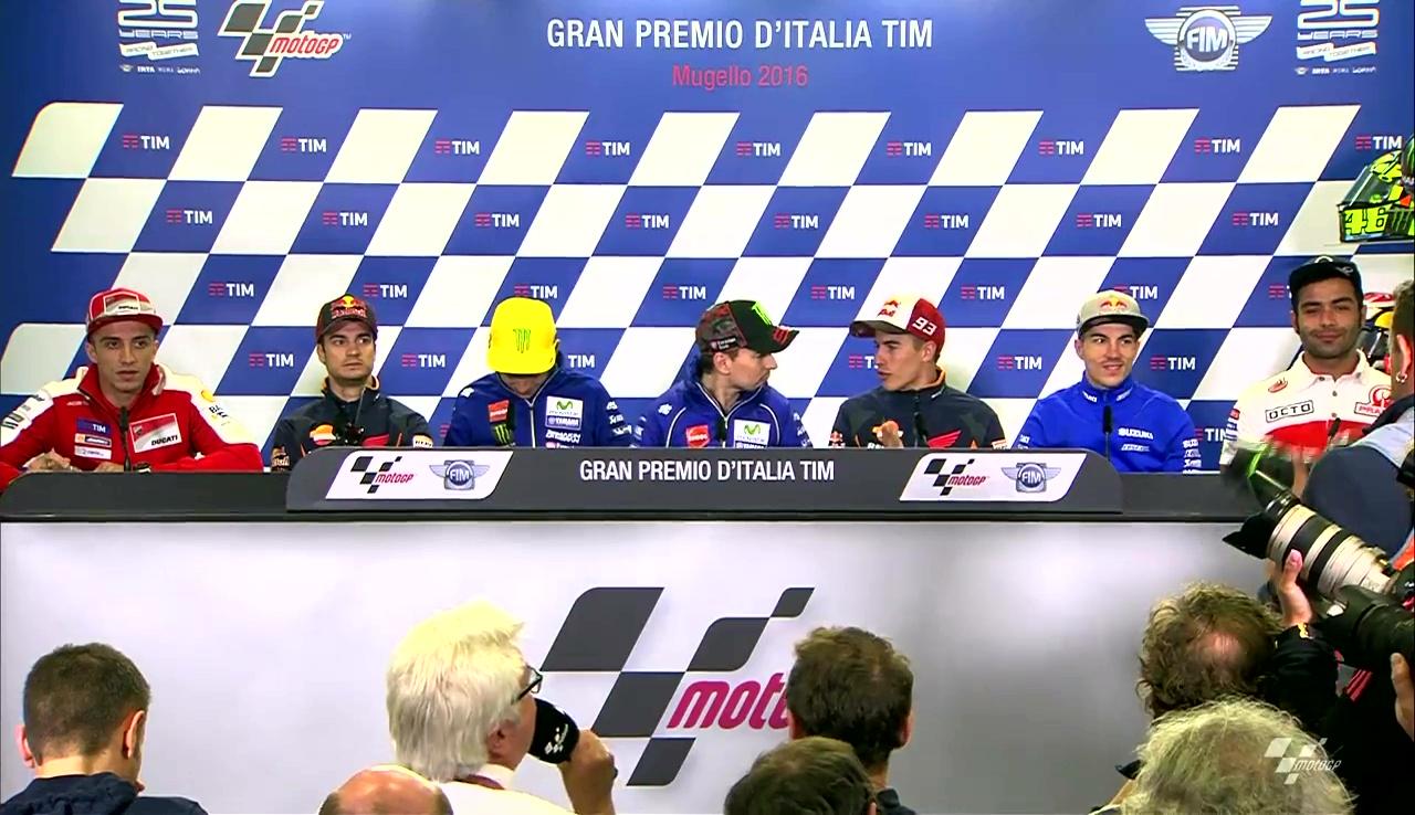 Italian GP: Press Conference