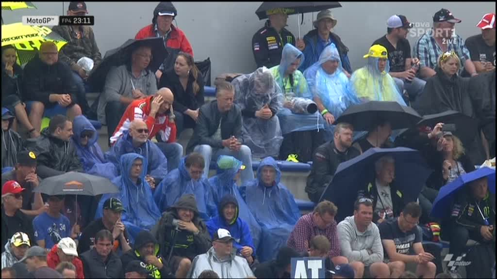 Holland GP FP4: Rain Dance