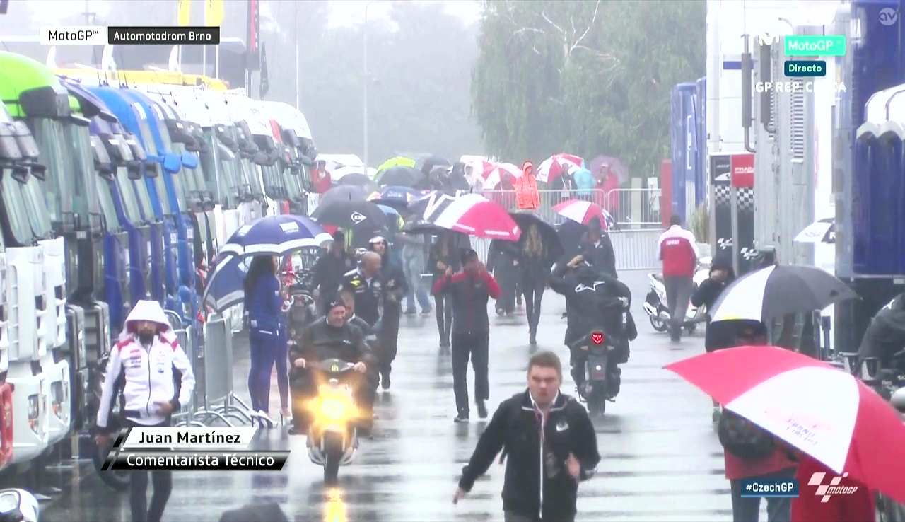 Czech GP Warmup: Singing in the Rain…