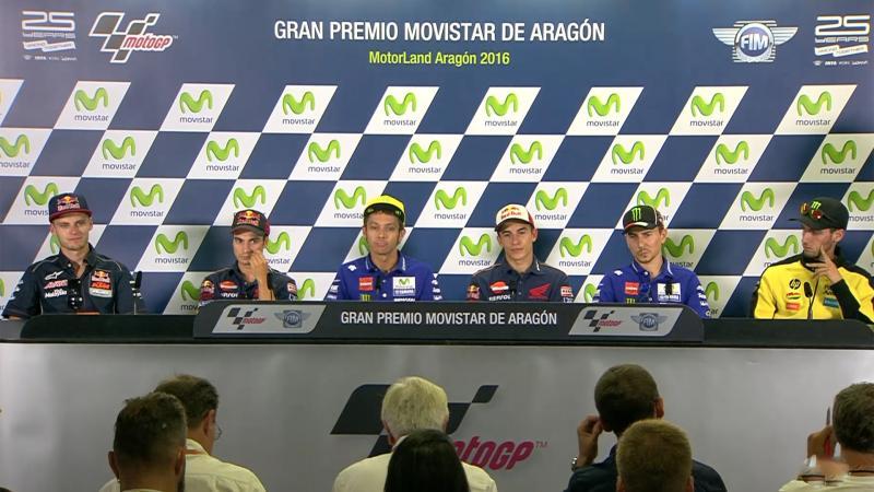 Aragon GP Press Conference