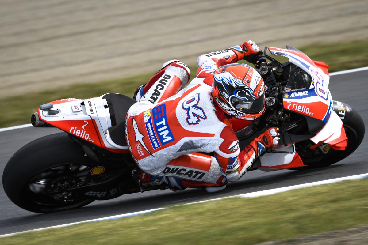 Japan GP FP1: Dovi Set the Clock