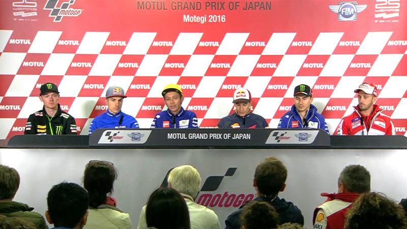 Japan GP Press Conference