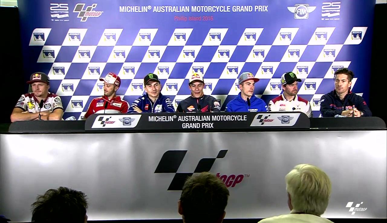 Australia GP Press Conference