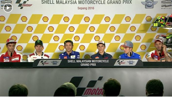 Malaysia GP Press Conference