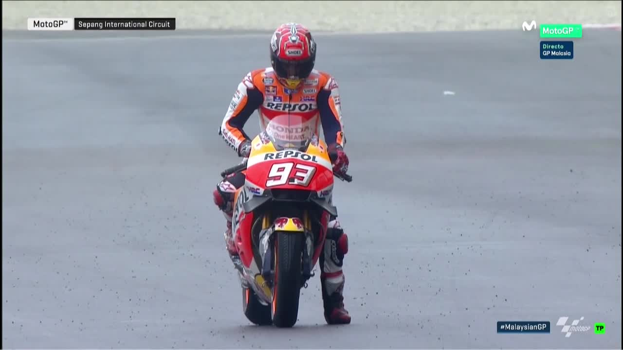 Malaysia GP FP4: MM93 Clinches CC35