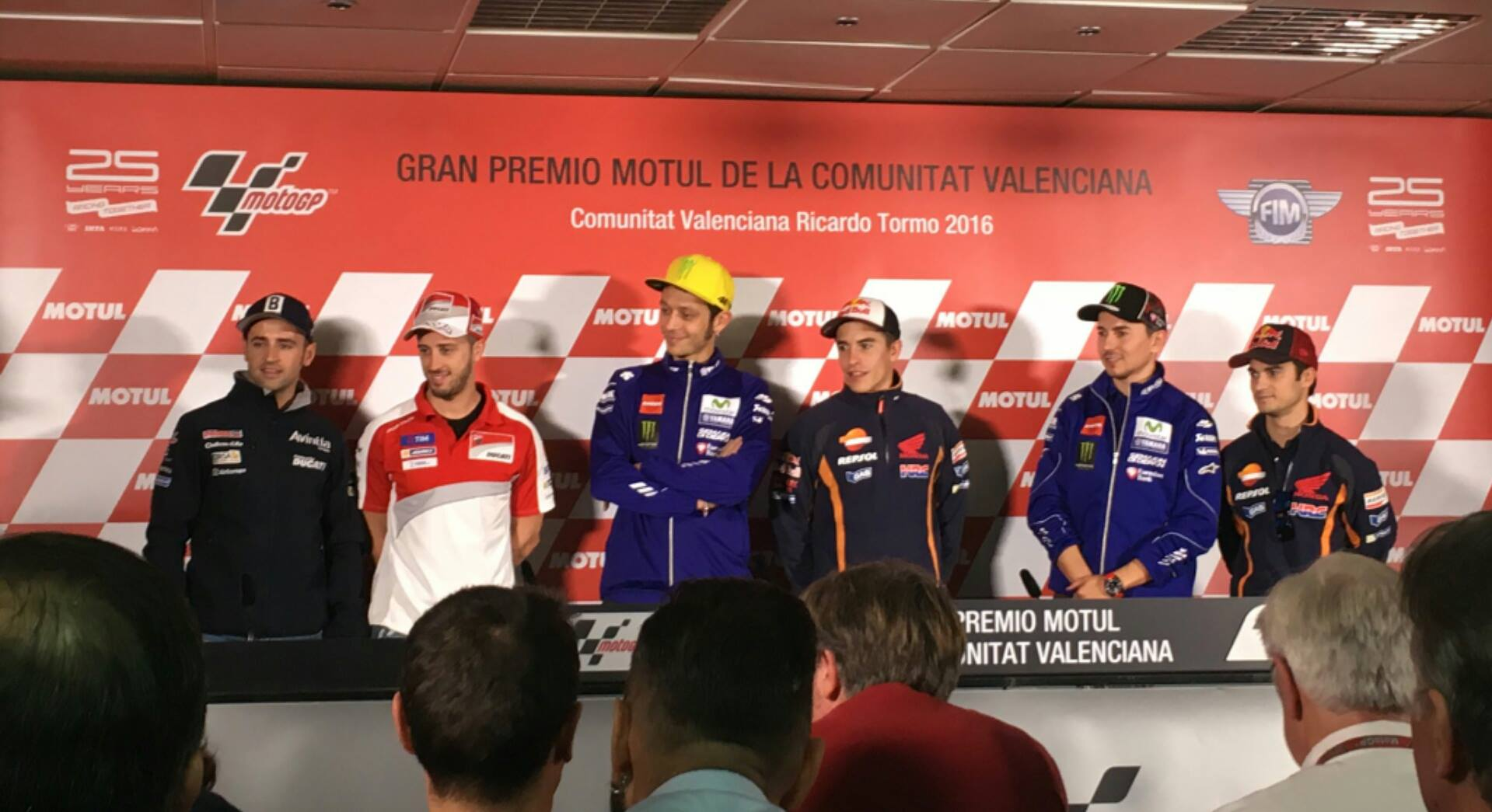 Valencia GP Press Conference