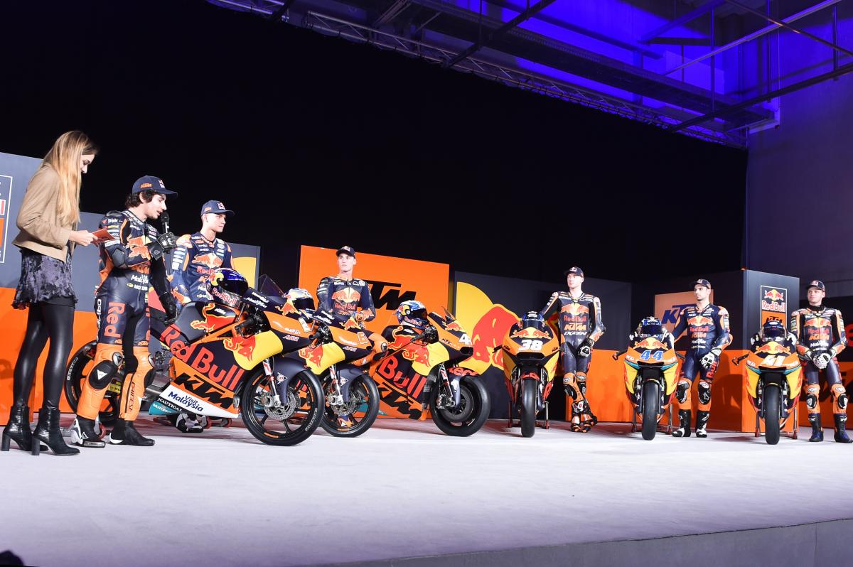 2017 Red Bull KTM Launch