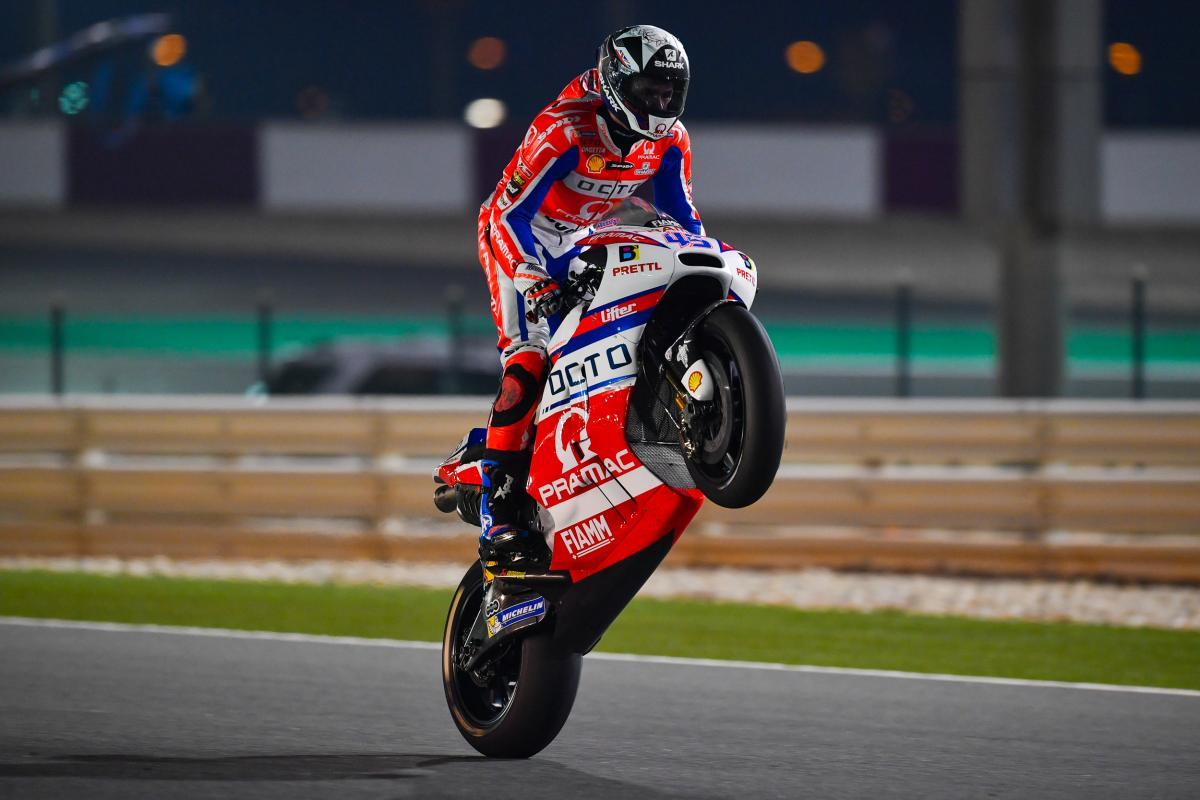 Qatar GP FP2: Surprise!