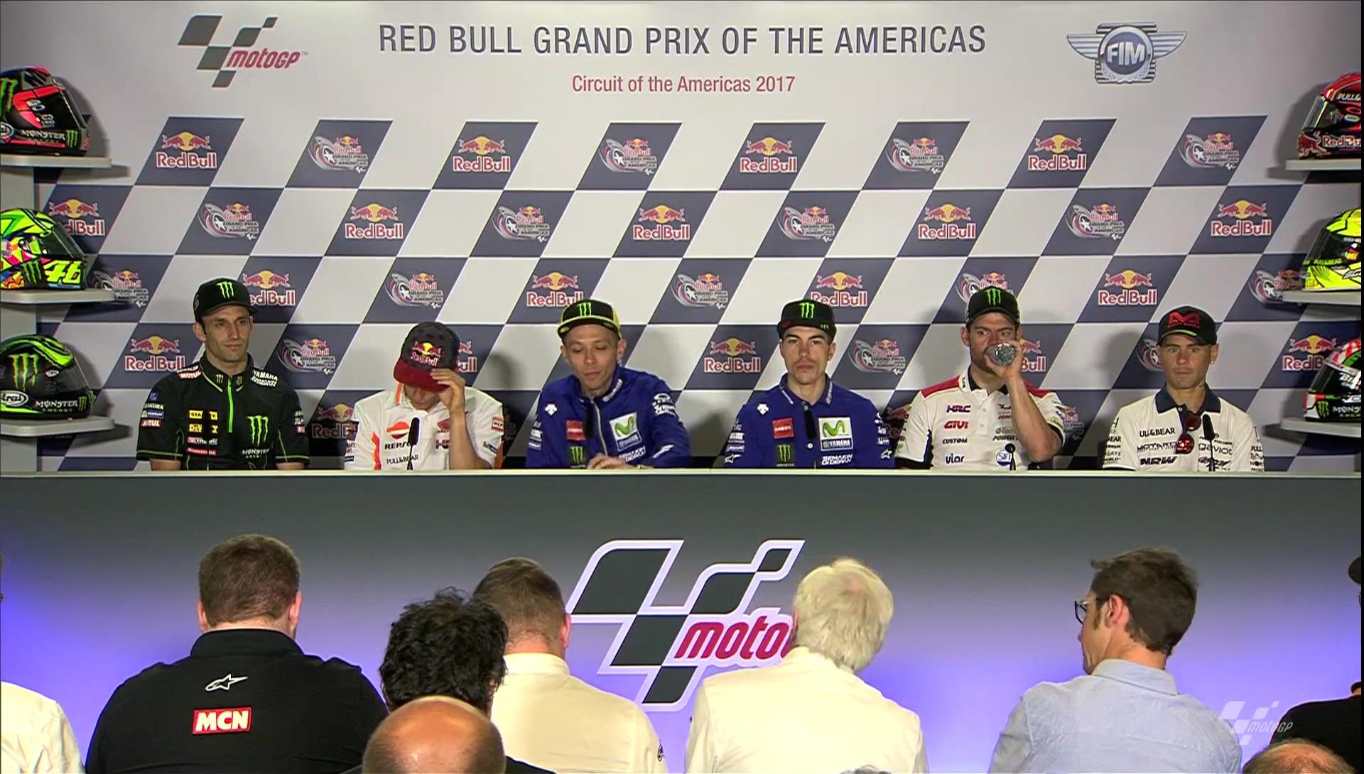 America GP Press Conference