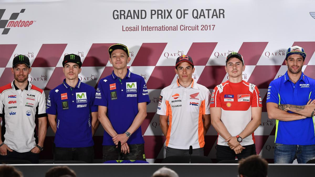 Qatar GP Press Conference