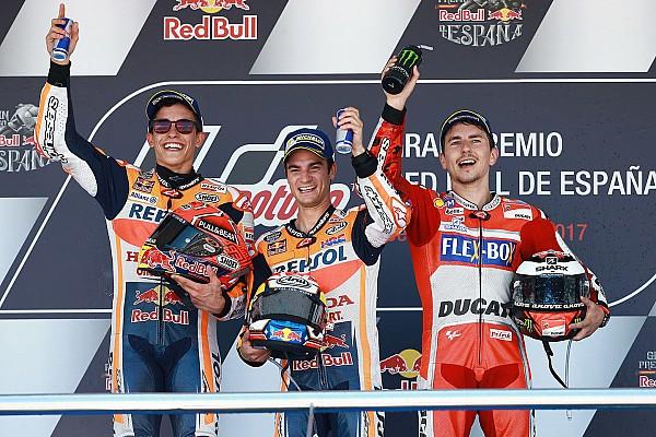 Spanish GP Race: Honda World