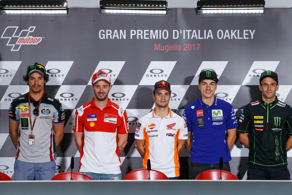 Italy GP Press Conference