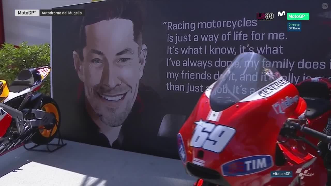 Tribute to Nicky Hayden