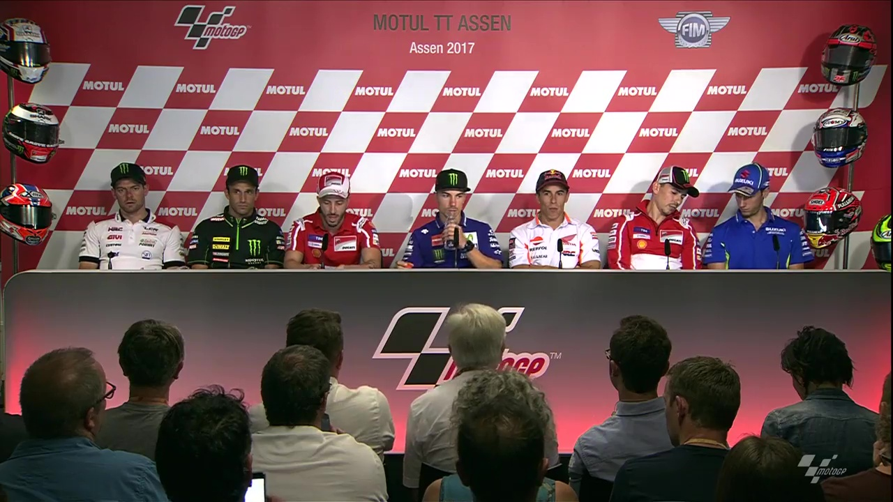 Assen GP Press Conference