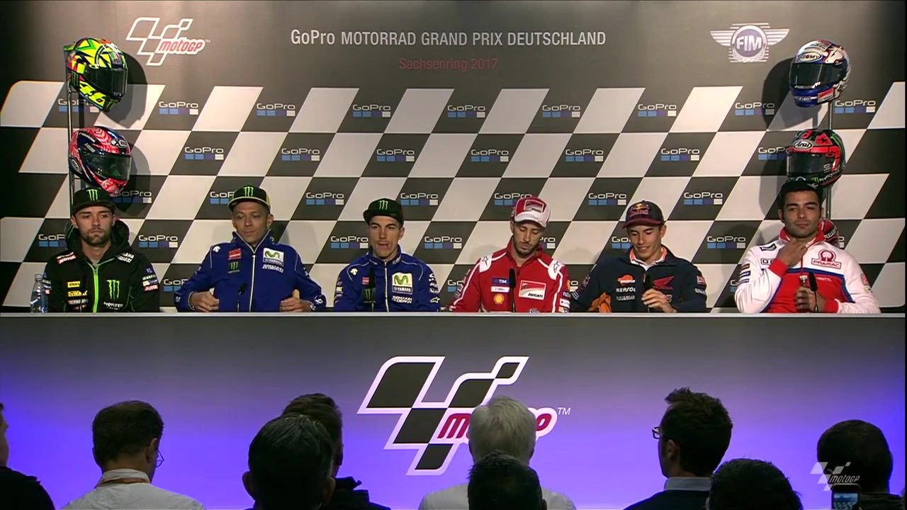 German GP Press Conference