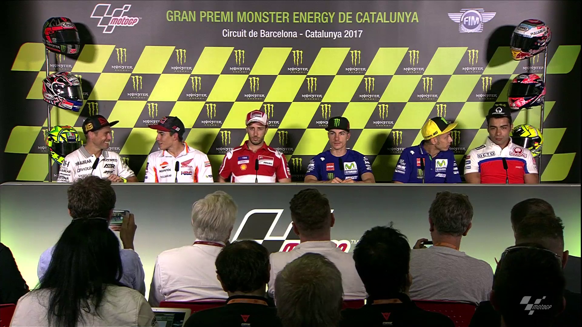 Catalunya GP Press Conference