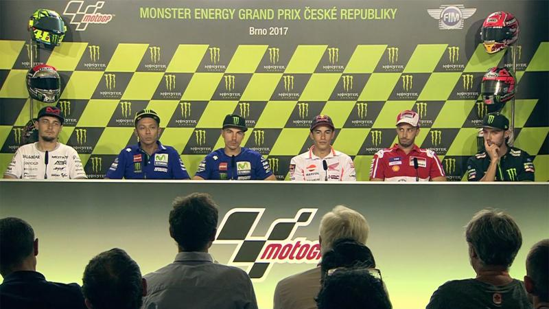 Czech GP Press Conference