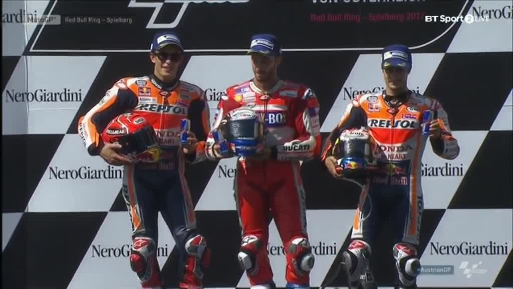 Austrian GP Race: Magnificent Dovizioso!