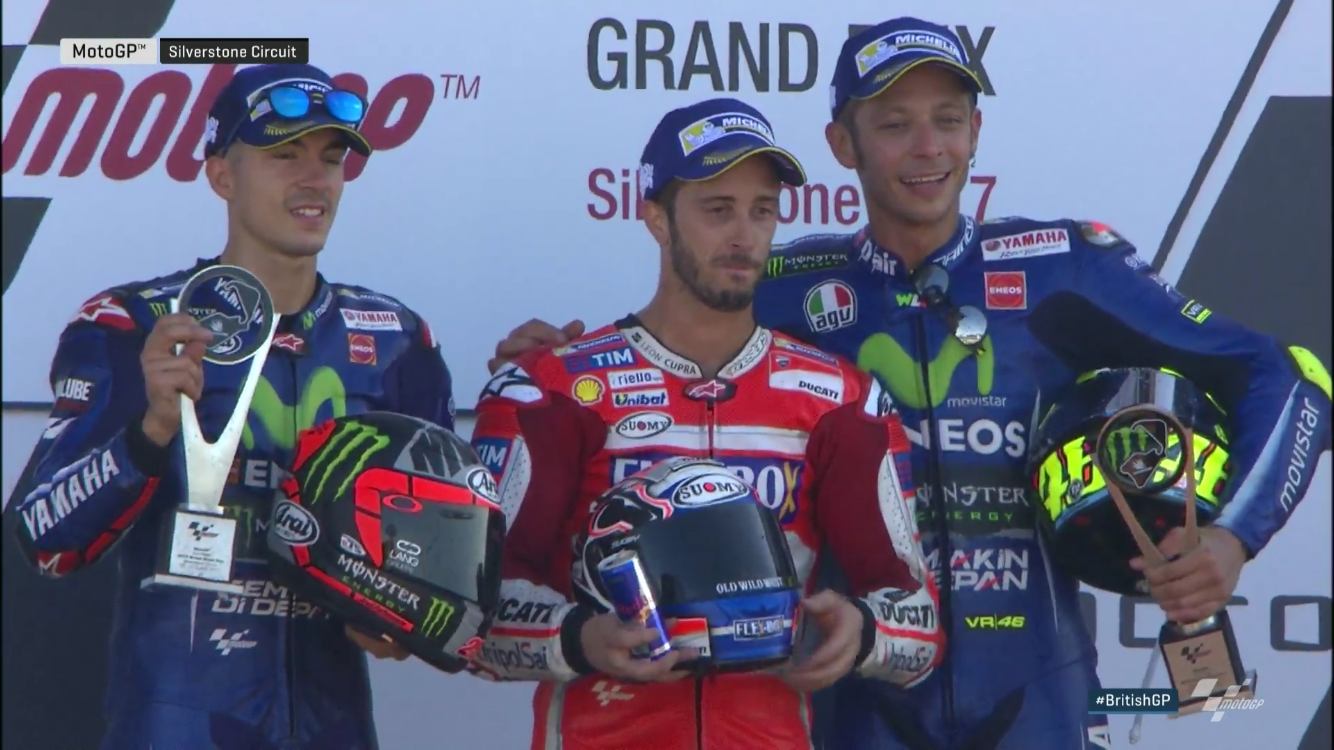 British GP Race: and 4 for Dovizioso!