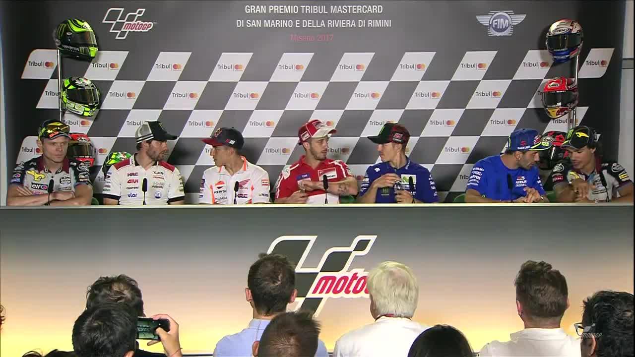 San Marino GP Press Conference