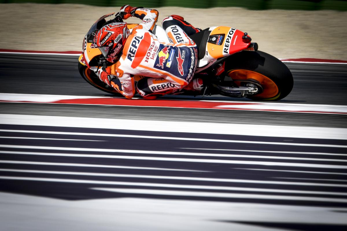 San Marino GP FP3: Marquez Flies to Q2