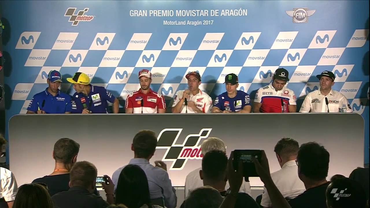Aragon GP Press Conference