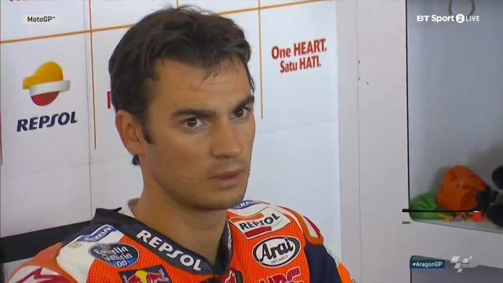 Aragon GP FP2: Dani Master the Game of Rain ~ Dry