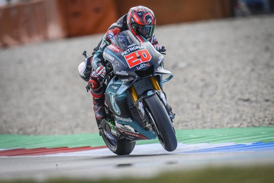Assen GP FP1: Yamaha P1 and 2