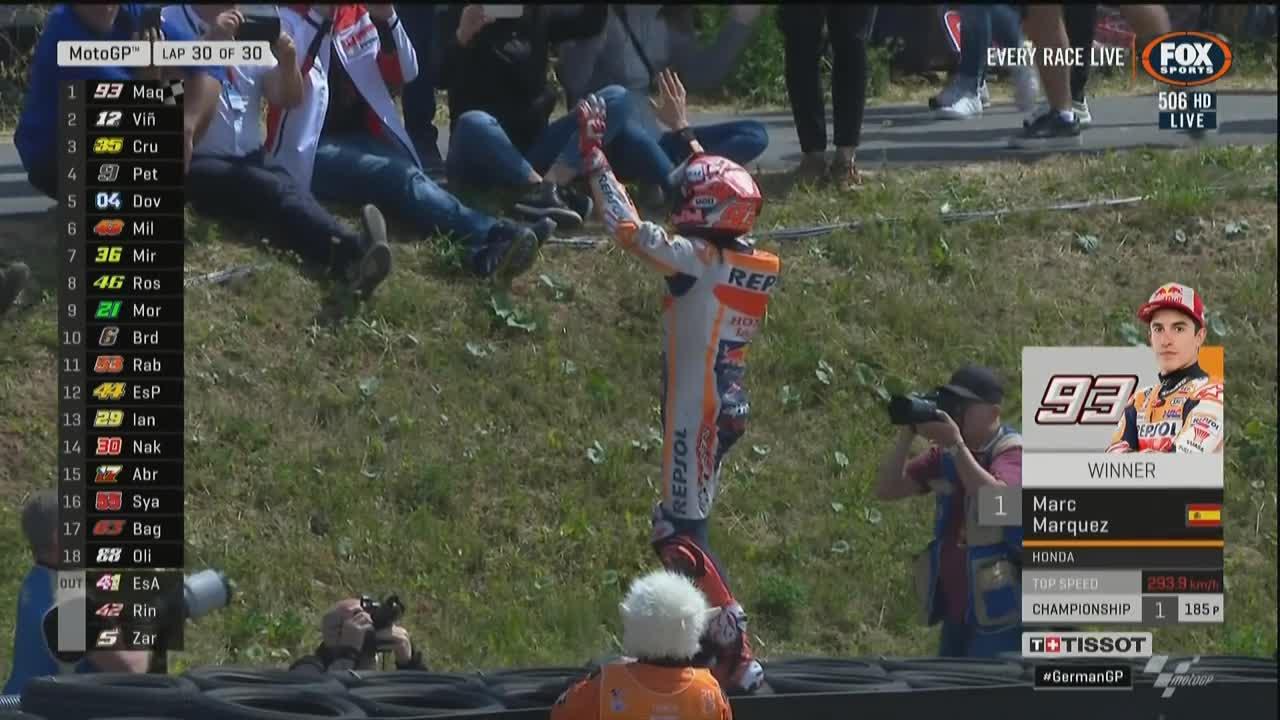German GP Race: Marquez making Strike at Sachsenring