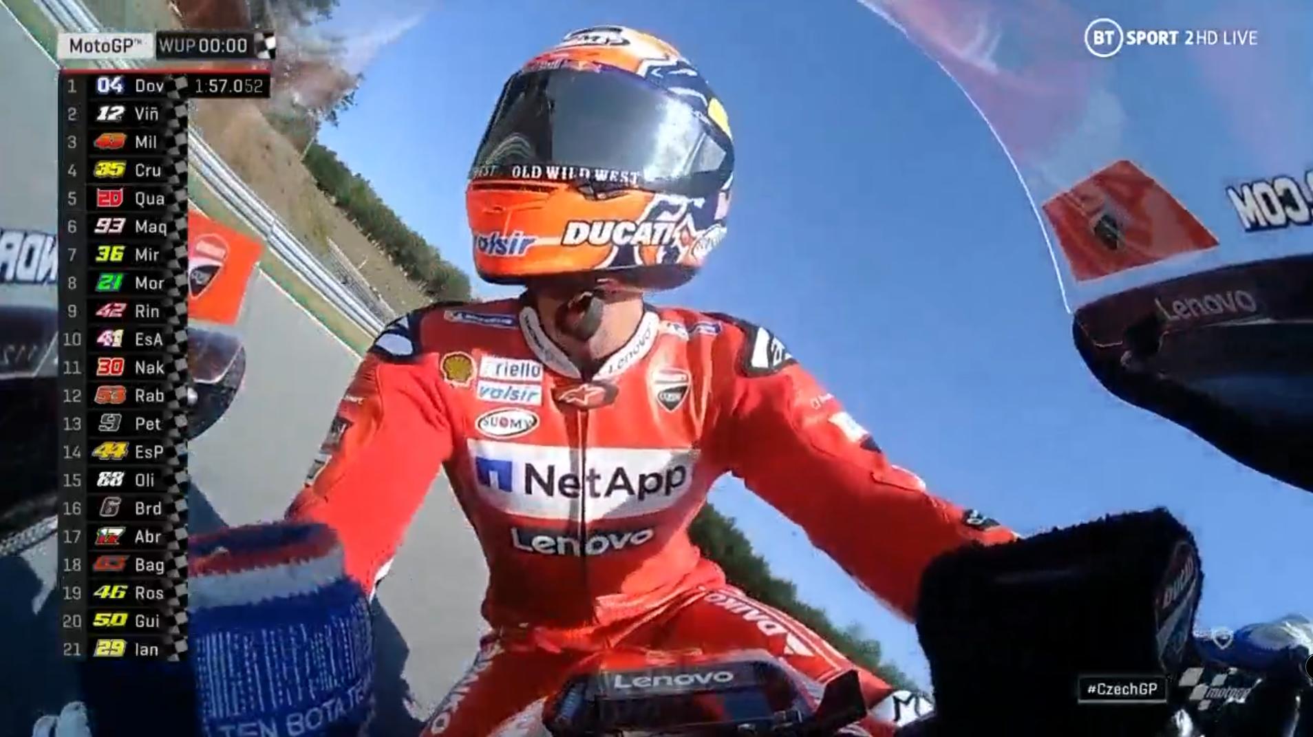 🏁🇨🇿  Czech GP Warmup: Dovizioso Back under Brno's Sun…