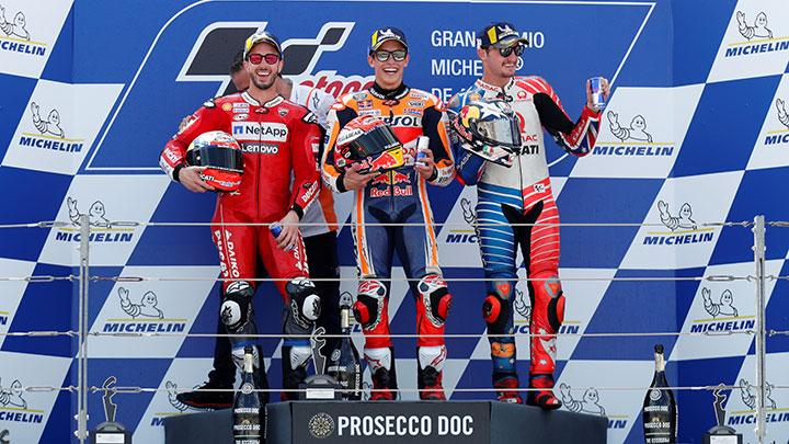 🏁🇪🇸 Aragon GP Race: Marquez Win, Smell the Title…