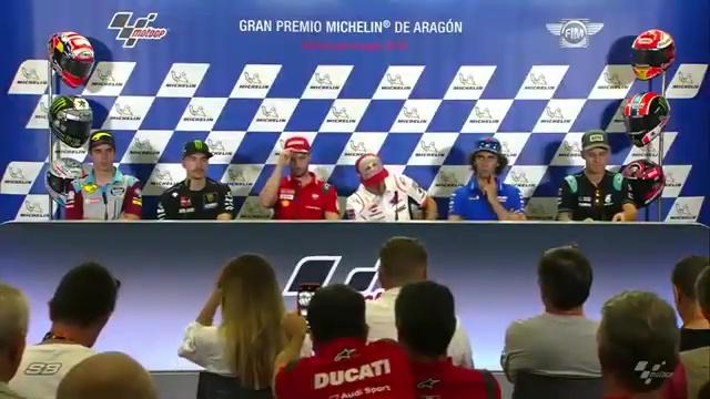 🏁🇪🇸 Aragon GP Press Conference