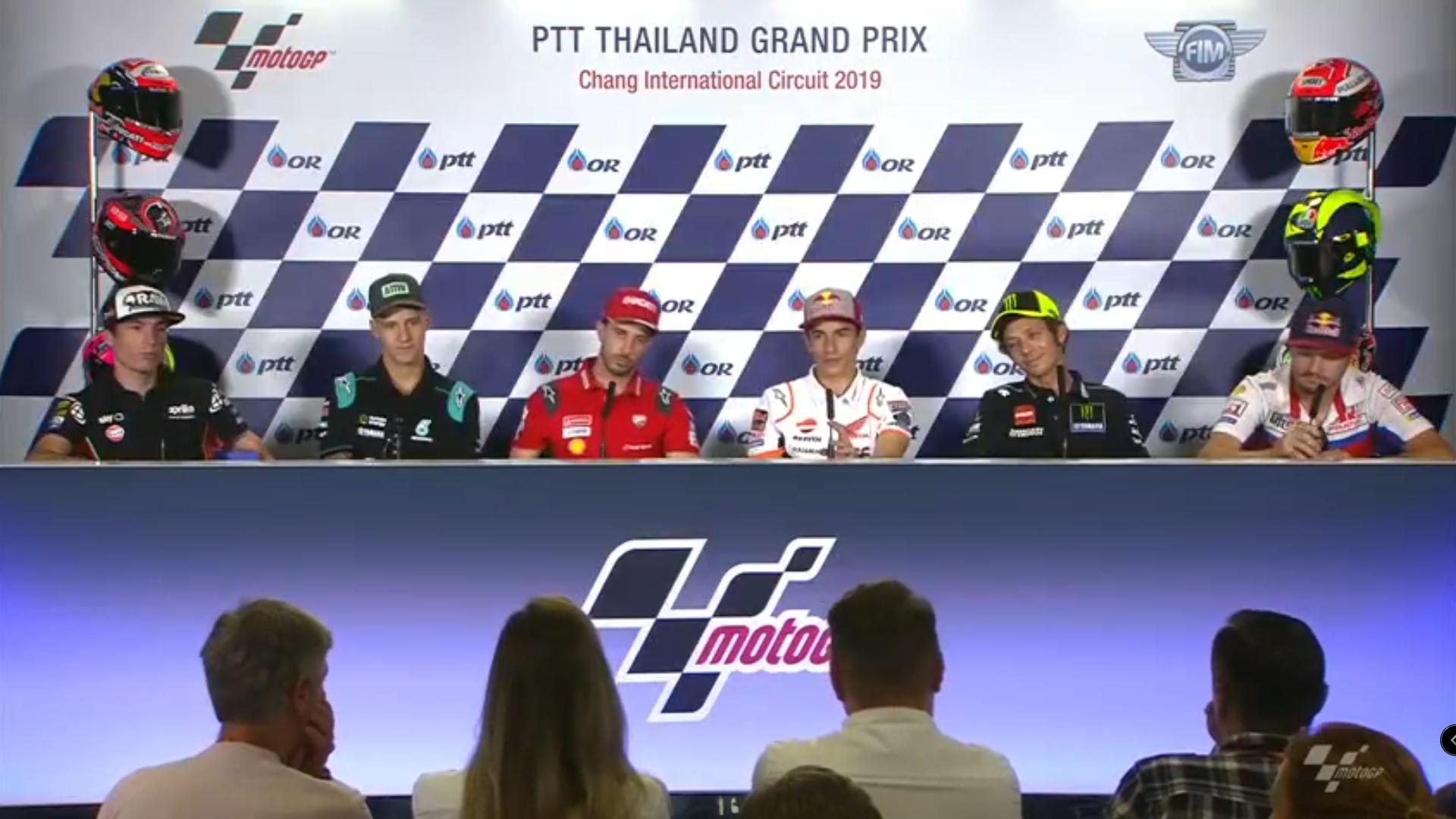 🏁🇹🇭 Thai GP Press Conference