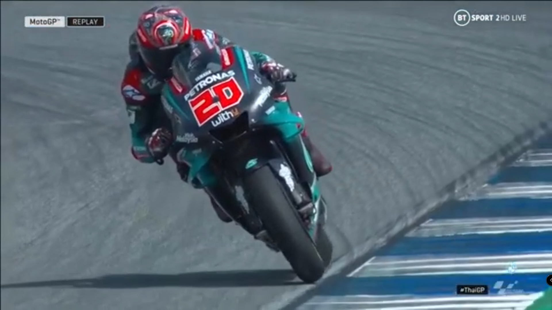 🏁🇹🇭 Thai GP FP4: Quartararo in the last Seconds