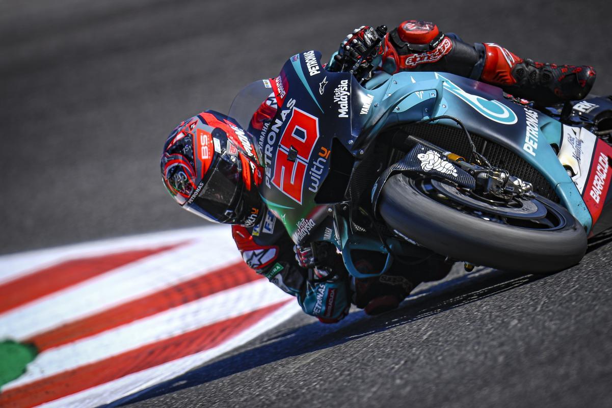 🏁🇪🇸 Valencia GP FP1: Fabio Quartararo Top