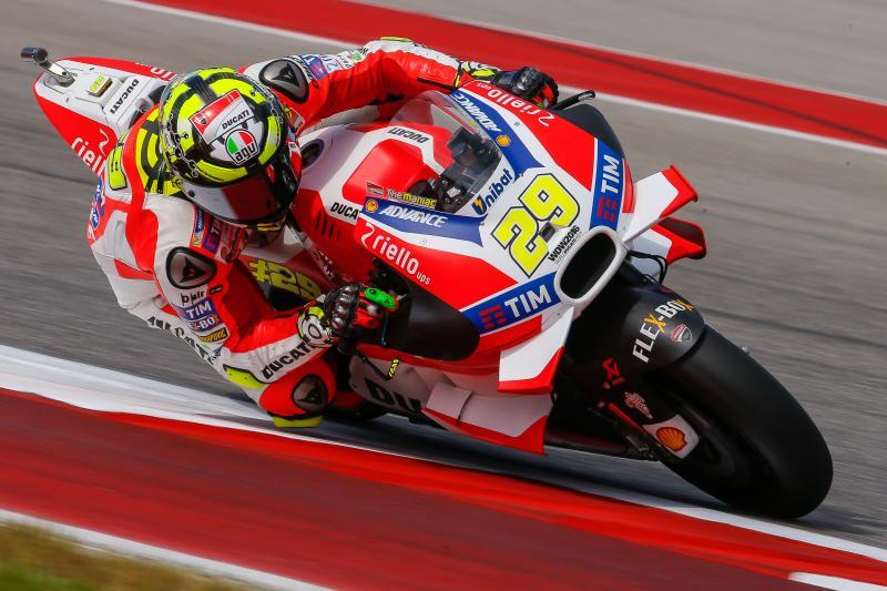 Austin GP Warmup: Iannone's Attempt
