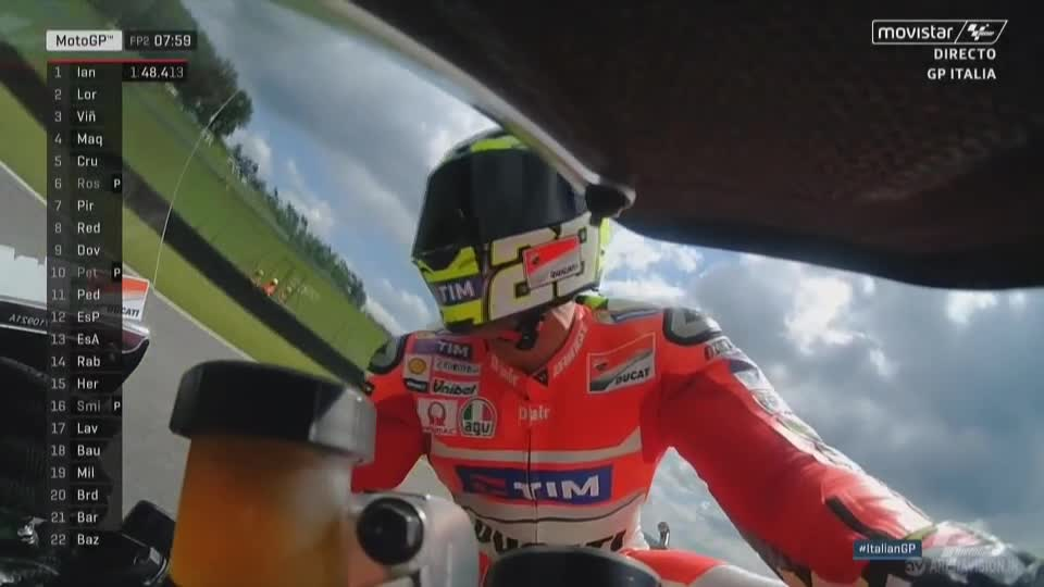 Italy GP FP2: Drying up, go faster