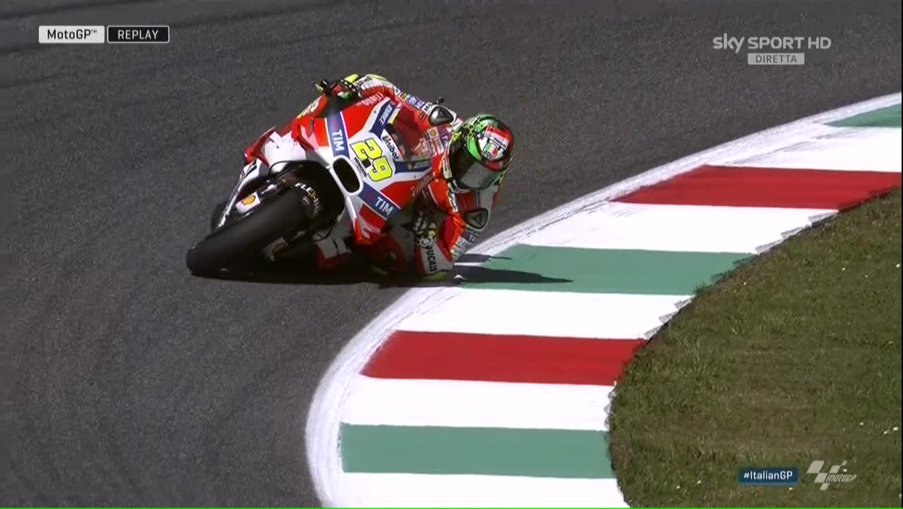 Italy GP FP3: Andrea In; Andrea Out…