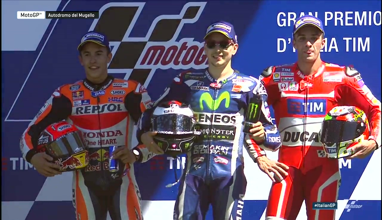 Italy GP: The Smoking GOAT