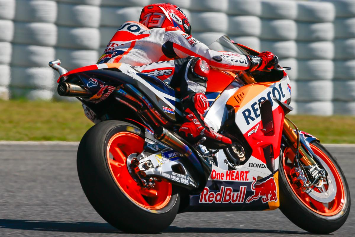 Catalunya GP FP4: Marquez in Control