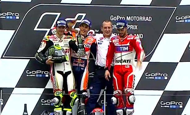 German GP Race: He Did It!