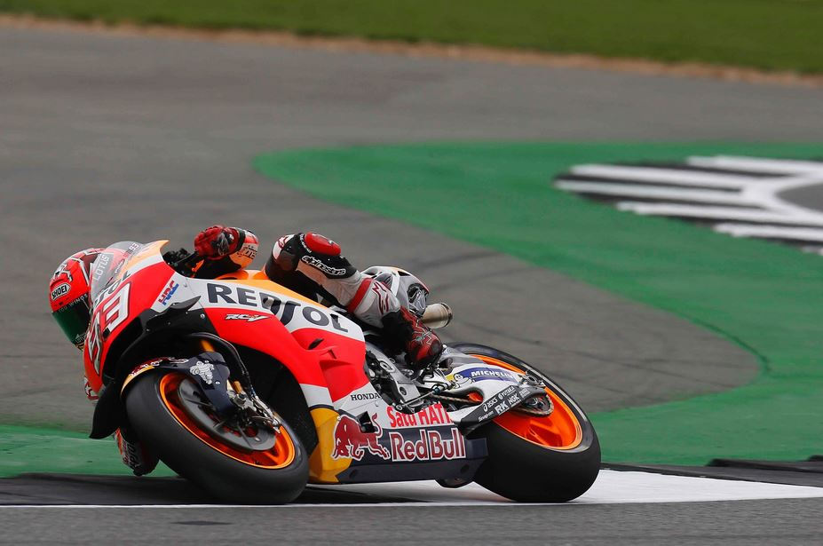 British GP FP3: Marquez Fight Anyway…