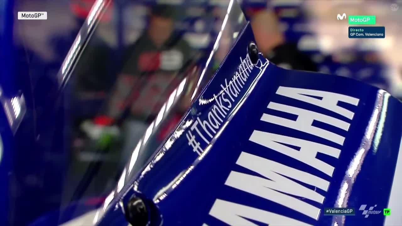 Valencia GP FP1: #thanksyamaha