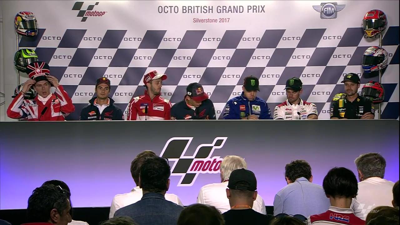 British GP Press Conference