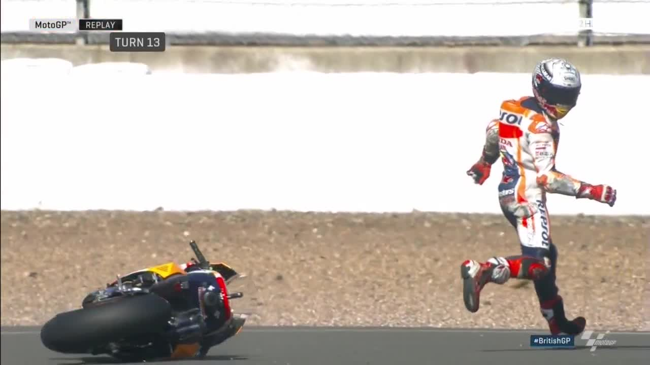 British GP FP2: Cal The Wild